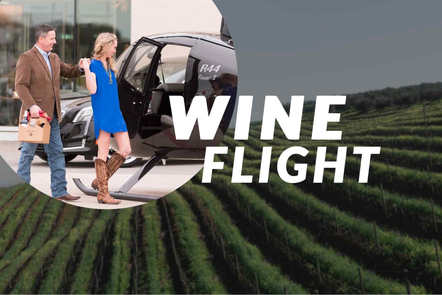 Helicopter Wine Flight