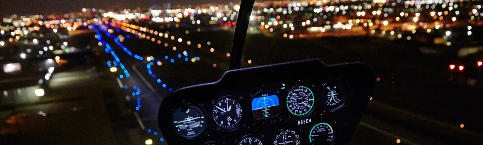 Helicopter Tour at Night
