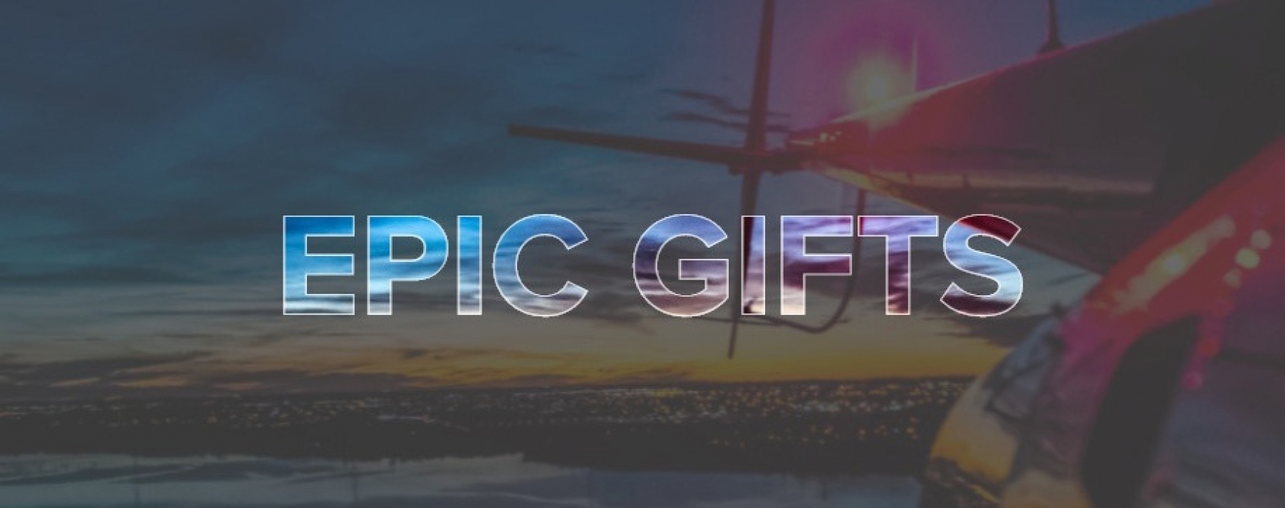Gift Certificates from Epic Helicopters