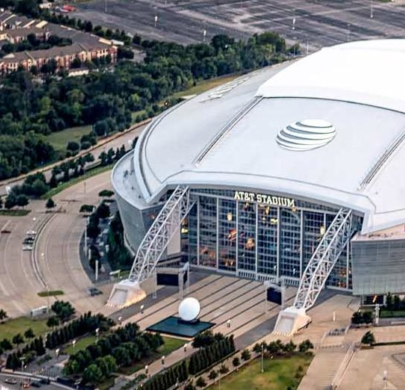 AT&T Cowboys Stadium Sports Helicopter Charter DFW