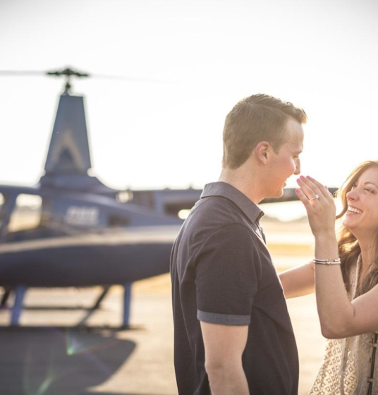 Engagement Tour Helicopter Ride