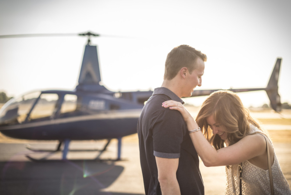 Dallas Fort Worth Engagement Helicopter Tour by Epic Helicopters