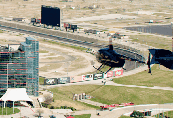 Texas Motor Speedway Helicopter Charter