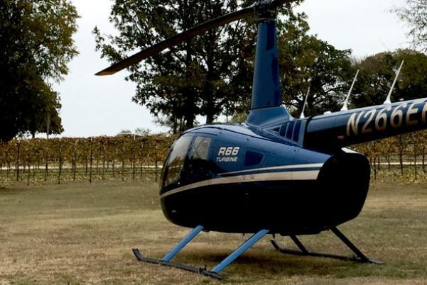 Texas Winery Epic Helicopter Tours