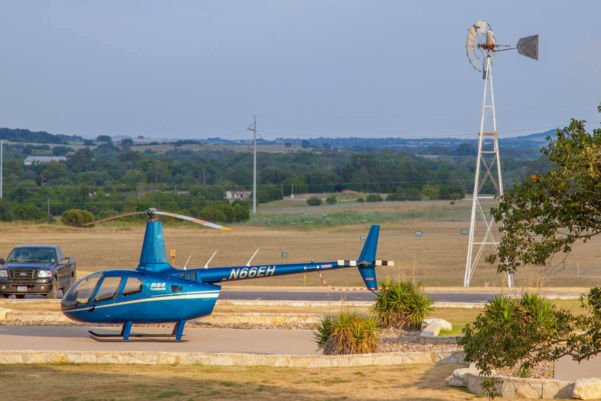 Helicopter Fly-in Dinner Date