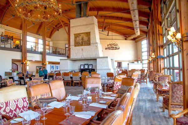 Dining Room at Rough Creek Lodge