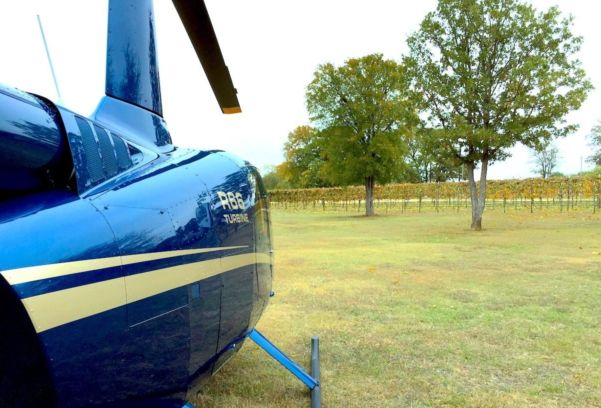 Texas Winery Helicopter Tour