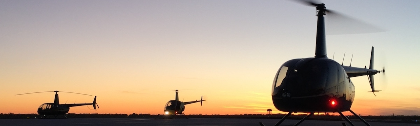 Sunset Helicopter Ride Dallas Fort Worth