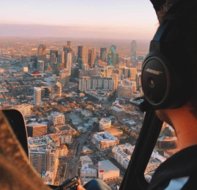 helicopter tour valentine date idea