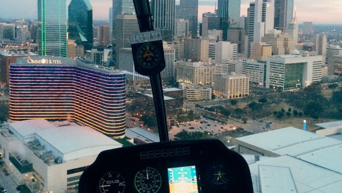 Downtown Dallas Helicopter Tour  Epic Helicopters